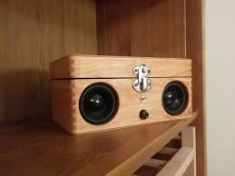 Diy Bluetooth Speaker Design Portable Speaker From Old Wooden Box Wooden Speakers Diy