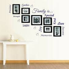 3d family tree photo picture frame