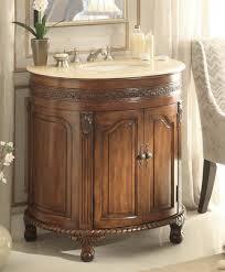 Antique Bathroom Cabinets Adelina 32 Inch Antique Bathroom Vanity Cream Marble Counter Top