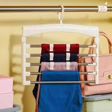 pants trousers hanger clothes hanger closet belt holder rack clothes organizer scarf tie belt rack dq1523