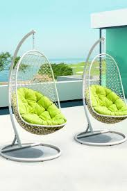 outdoor hanging furniture. Chairs Stylist Outdoor Hanging With Sturdy White Wire Mesh South Africa Unbelievably Relaxing Piece Of Furniture