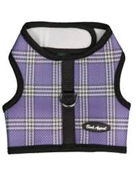 Bark Appeal Bark Appeal Wrap N Go Plaid Mesh Harness