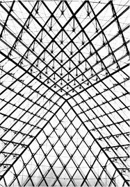 Pyramide Louvre Paris Coloriages Difficiles Pour Adultes Coloriage Pyramide Du LouvreL