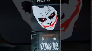 Sticker Light For Cycle Splendor Back Light Modified Devil Back Light Splendor Bike Hero Joker Tattoo Back Light Modified