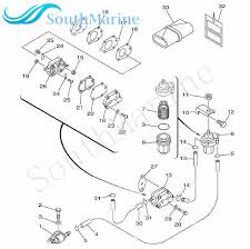 Boat Motor 650 24431 A0 Fuel Pump Gasket For Yamaha 2 Stroke 40hp 40x E40x Outboard Engine