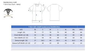 Surf Leash Size Chart Size Chart Raging Bull Surf