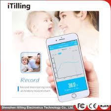 Digital Medical Chart Distributor Smart Digital Medical Electronic Thermometer Medical Equipment With Remote Sensor Bluetooth Long Connect Distance For Baby Kids