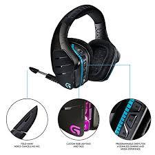 artemis spectrum snow. amazon.com: logitech g933 artemis spectrum - wireless rgb 7.1 dolby and dts:x headphonex surround sound gaming headset pc, ps4, xbox one, switch, snow r
