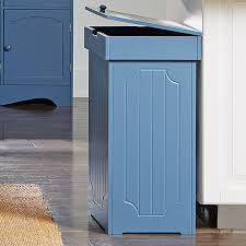Decorative Kitchen Trash Cans Tips Customize Your Kitchen Cabinet With Tilt Out Trash Bin