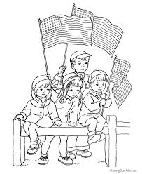 Free Printable Memorial Day Coloring Page 002