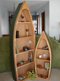 6 foot handcrafted wood row boat bookshelf bookcase by spinad1 249 00 via