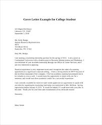 Intern Cover Letters Sample Cover Letter For Internship 9 Examples In Word Pdf