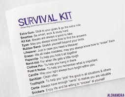 high school graduate diy survival kit full of life lessons ever kid going to college