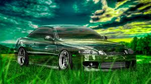 toyota soarer jdm crystal nature car