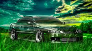 toyota soarer jdm crystal nature car