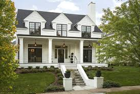 Modern Colonial Four-Square transitional-exterior