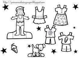 Small Picture PAPER DOLL ON PRINCESS COLORING PAGES Free Colouring Pages
