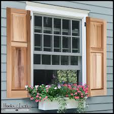 cedar raised panel exterior shutters to enlarge
