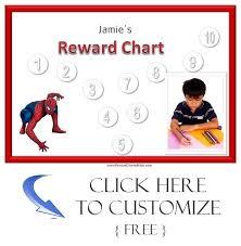 Spiderman Reward Chart Spiderman Sticker Chart Charts Sticker Chart Printable