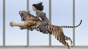 what is a summary of the lady or the tiger com