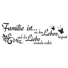 Familie Sprüche Kurz Lovely G576 Spruch Wandtattoo Familie Ist Wo