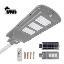 Sensors Used In Street Lights Buy Mophorn Solar Street Light 40w Led Street Light With
