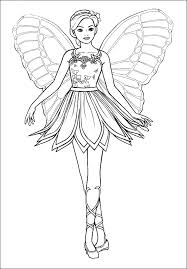 Small Picture Coloring Pages Barbie A Fashion Fairytale Coloring pages wallpaper