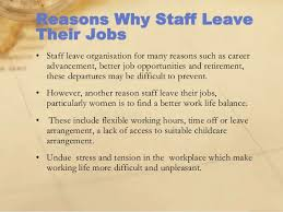 A Good Reason For Leaving A Job Reasons To Leave A Job