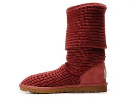 UGG 5819 Australia Classic Cardy Boots For Women in Red