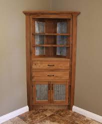 tin furniture. Rustic Corner Cabinet Reclaimed Barn Wood WBarn Tin By Keeriah Furniture P