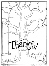 Free Coloring Sheets On Thanksgiving I Am Thankful For You Fresh