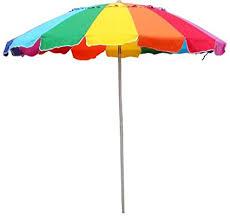 Image Easygo Beach Image Unavailable Amazoncom Amazoncom Impact Canopy Beach Umbrella Rainbow Color With Carry