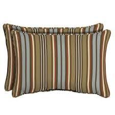 Lumbar Hampton Bay Outdoor Pillows Outdoor Cushions The