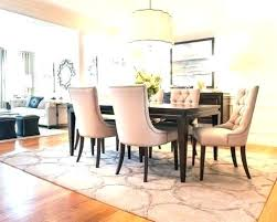 dining room rug ideas area rugs under table houzz