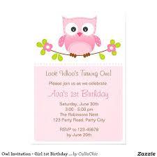 Owl Birthday Invites Birthday Invites Incredible Owl