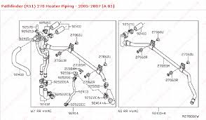 how to fix heater piping for rear heater nipple on nissan pathfinder kenworth heater box diagram at Heater Box Diagram