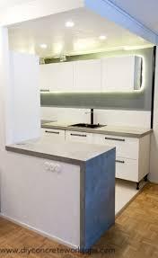 Thinset Concrete Countertops 13 Best Concrete Counters Images On Pinterest Kitchen Ideas