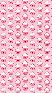 Kawaii Cupcake Wallpaper For Iphone 5s Kawaii Sobres De Papel