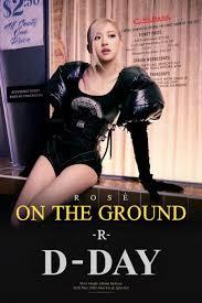 NEWS][12MAR21][BLACKPINK]🌹D-DAY 'ON THE GROUND' ROSÉ 1st SINGLE ALBUM -R-