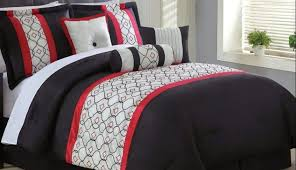 blue quilt bedspread snowflake red stripe toile striped bedding queen sets and ro king fl baby