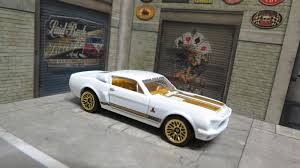 Garagem Hot Wheels: Ford Mustang Shelby GT500 1968