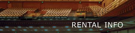 Royce Hall Detailed Seating Chart Rental Info Royce Hall