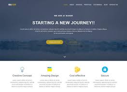 Website Builder Templates Beauteous 48 Business Website Design Template Free Download
