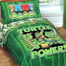 teenage tmnt comforter set twin