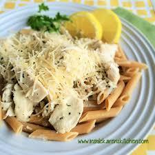 lemon basil en over whole wheat penne pasta 2