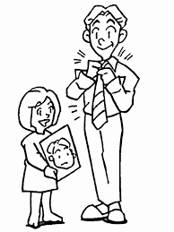 Coloring Pages Fathers Day Animated Images Gifs Pictures