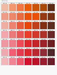 Pms Orange Color Chart Aka Tombo Millinery The Endless Possibilities Of Coral In