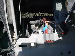 ford super duty alarm remote start installation location of parking light wire