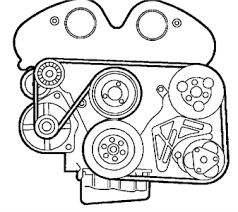 diagram for a 2000 saturn s series fixya serpentine belt diagram for 2000 l series saturn