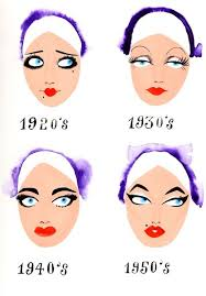 even if make up only changed a bit over the years doesn t mean it hasn t made a